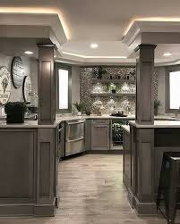 Basement Kitchen Designs Amazing Pin By Lynn Beck On House Storage Pinterest Basement Kitchen