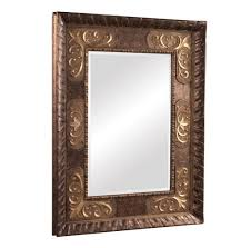 Antique Style Rectangular Small Wall Mirrors Decorative Ideas With Hand  Carved Antique Brass Mirror Frame