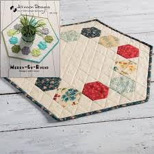 merry go round table topper pattern