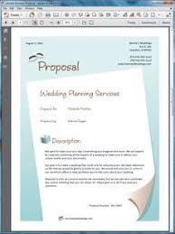 Event Planning Proposal Wedding Planner Services Sample Proposal In 2019 Event