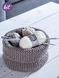storage basket knitting kit