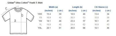 Youth Size Chart Kids Clan T Shirt With Stags Head Crest Front And Back Youth Sizes