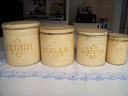 kitchen canister sets rustic design affordable modern home decor inside stylish canisters for your own
