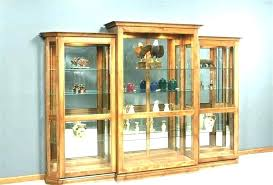 wall mounted curio cabinets white curio cabinet glass doors