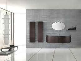modern bathroom furniture sets. Brown Bathroom Vanity With Two Storage Color And Unique Edge Wall Mirror Unusual Pendant Lamp Image. Modern Furniture Sets E
