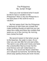 my opinion essay