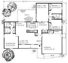 3 Bedroom Open Floor House Plans Creative Design Awesome Design Ideas