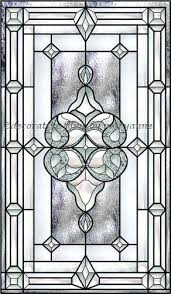 bevel stained glass window 1 decorative fablon frosted vinyl