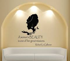 Beauty Shop Quotes Best of CustomNameSalonVinylWallDecalQuoteAWomansBeautyPeoplefo