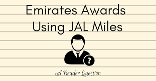 Emirates Awards Using Jal Miles A Reader Question Pointsnerd