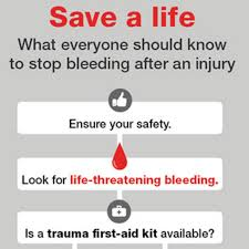 Stop The Bleed Save A Life Flow Chart