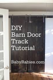 easy diy barn door track. DIY Barn Door Track Tutorail Easy Diy