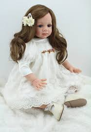 child size love doll large size 60cm silicone reborn baby dolls with cloth body lifelike