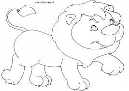 Disegni Da Colorare Categoria Animali Immagine Leone Infanziaweb
