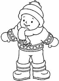Small Picture FREE Winter Clothing Coloring Pages Great for sequencing The