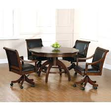 kitchen chairs with casters no arms unlikely dining table caster interior design 13