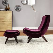 modern chair ottoman trend purple velvet chair for your famous designs with and ott additional leather ivory accent high back grey large upholstered