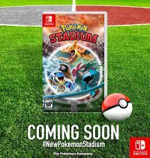 NEW Pokemon Stadium - Pokemon Stadium Switch (CONCEPT) - Enjoy! :  NintendoSwitch