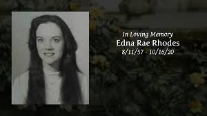 Obituary | Edna Rae Rhodes of Mullins, South Carolina | Meares Funeral  Home, Inc.