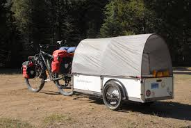 Bike Camper Trailer