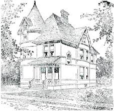 House Coloring Pages Preschool Schoolhouse School Colouring Page