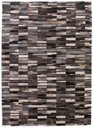 exquisite rugs natural hair on hide gray multi area rug