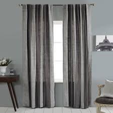 Linen Stripe Vertical Stripe 84-Inch Rod Pocket/Back Tab Window Curtain  Panel in
