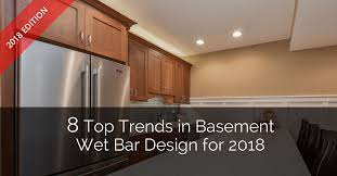 Basement Wet Bar Design