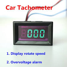 motorcycle tachometer wiring reviews online shopping motorcycle car motorcycle digital tachometer tacho rpm gauge green led battery overvoltage alarm auto 4 digit three wires