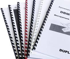 Брошюровка Переплет брошюровка документов