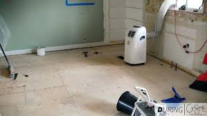 remove vinyl floor tiles the painstaking process of how we took up the old linoleum floors