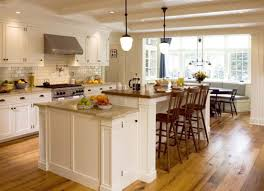 Kitchen Lighting For Low Ceilings L Shaped Kitchen With Cool Cream Cabinets Idea And Unique Pendant