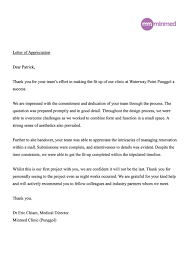 office renovation contractor office interior designers letter testimonial from minmed clinic