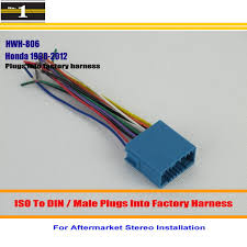 honda stereo wiring promotion shop for promotional honda stereo car wiring harness for honda odyssey pilot prelude ridgline s2000 car stereo adapter connector plugs into factory harness