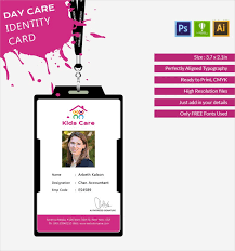 Identity Templates Day Id Cds Card Fabulous Care Premium – Template Free