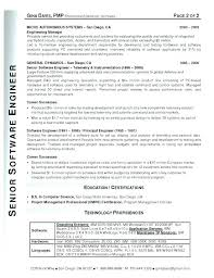 Resume Format For Experienced Software Engineer Software Engineer ...