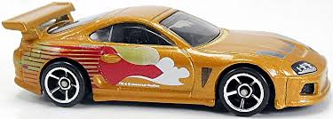 Toyota Supra - 72mm - 2013 | Hot Wheels Newsletter