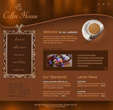 Coffee Shop Brochure Template Coffee Shop Flash Template 24 10