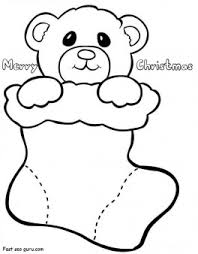 Small Picture Printable Coloring Pages Of Christmas Stockings Coloring