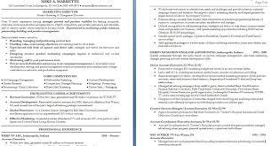 s marketing resume objective examples resume template  sample marketing resume template