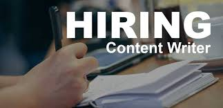 hiring content writer part time and full time writers needed