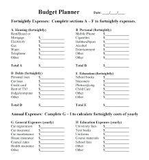 Trip Planner Calculator Travel Budget Planner Template