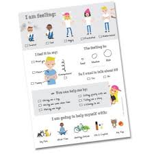 Feelings Chart For Kids Helping Our Kids To Feel The Feelings Renee Greenland