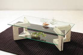 glass table living center table ms 2 マクタンスト ng