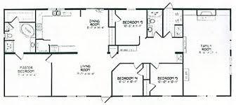 double wide floor plans 4 bedroom 3 bath. Wonderful Plans Double Wide Floor Plans 4 Bedroom 3 Bath Bathroom And O