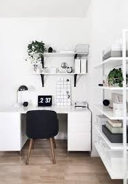 white office decors. black and white office decors