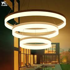 2019 classic style circular ring pendant lamp acrylic pendant lights fixtures for living room bedroom lamp from lightlight 59 9 dhgate com
