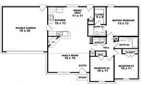 small one story house plans modern plan authentic and 4 bedroom 3