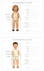 20 Best Body Measurement Chart Images Body Measurement