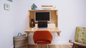 view in gallery diy fold up desk from crafted fairly
